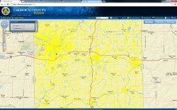 Calhoun County Internet Mapping Portal Application