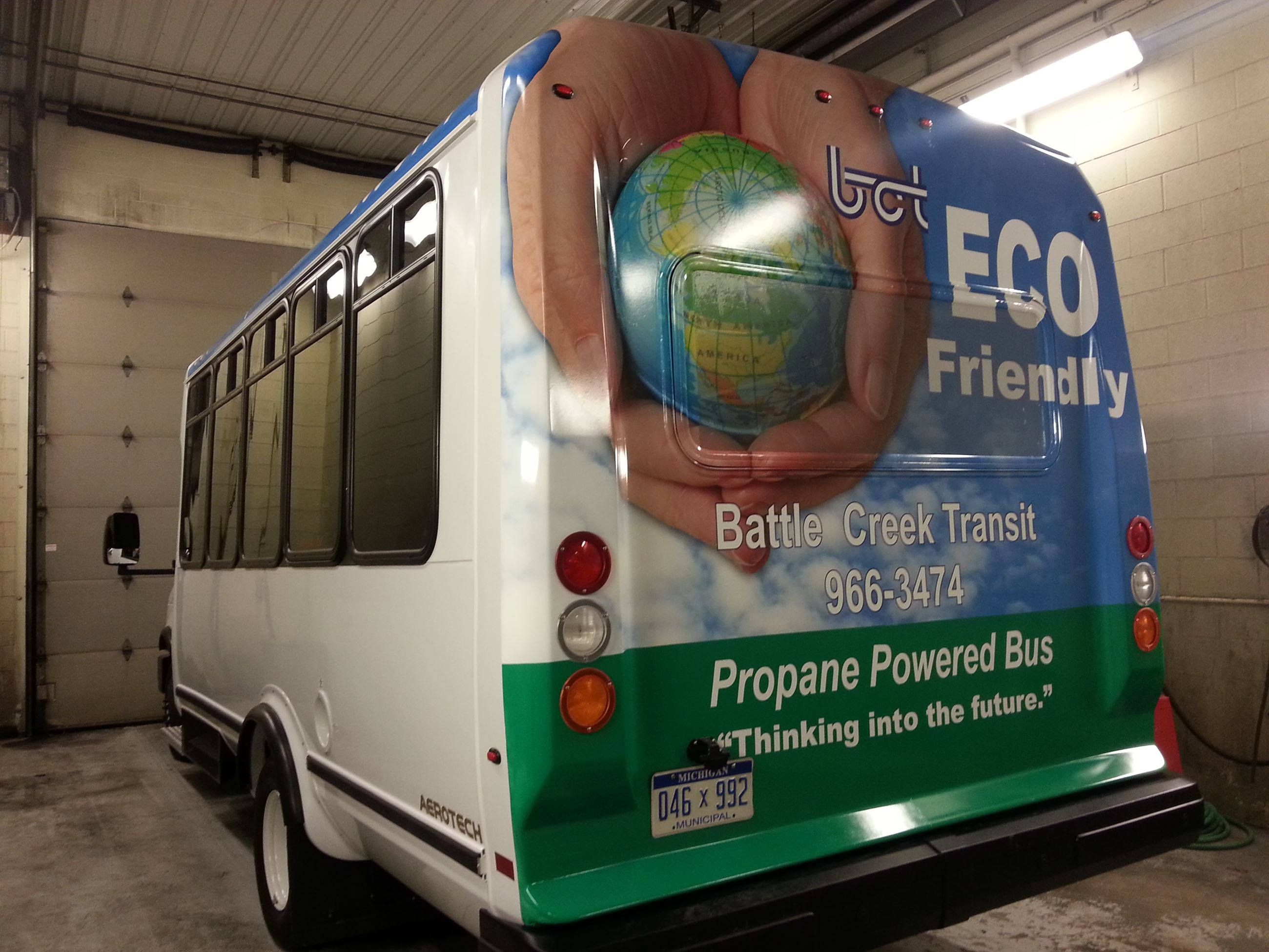 Eco Friendly bus