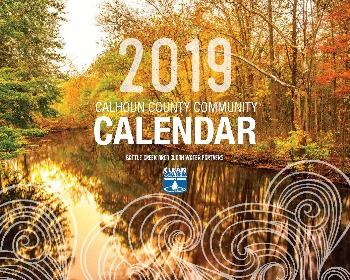 2019 Clean Water Partners calendar cover