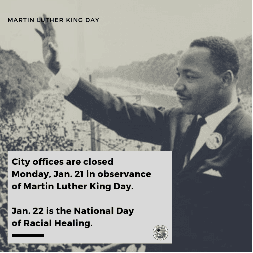 martin luther king day graphic 2019
