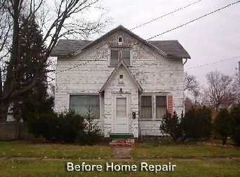 Home before rehabilitation