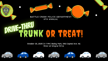 Trunk or Treat 2020 promo graphic