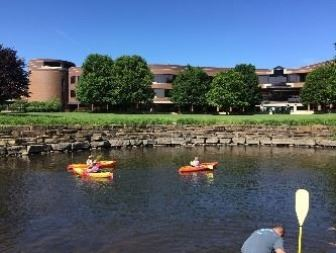 kayaking downtown Opens in new window