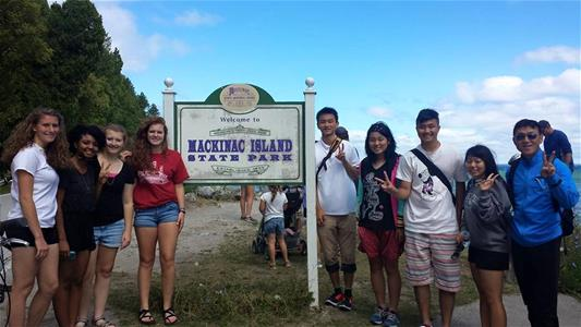 Takasaki trip to Mackinac Island 2015